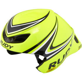 Rudy Project Wingspan Kask rowerowy, yellow fluo/black